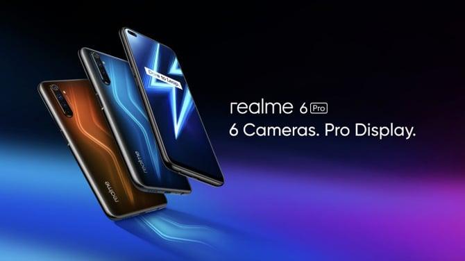 Realme 6 e Realme 6 Pro são lançados com 4 câmeras, tela de 90Hz e carregamento rápido