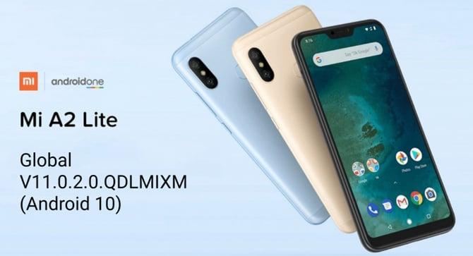 Xiaomi Mi A2 Lite começa a receber o Android 10