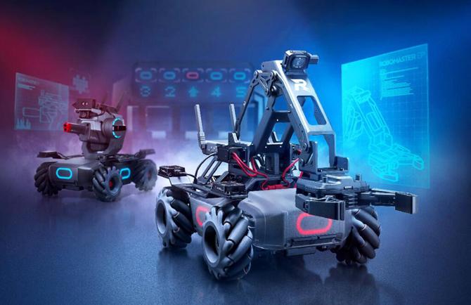 DJI lança o RoboMaster EP, seu novo robô modular com mais de 50 sensores