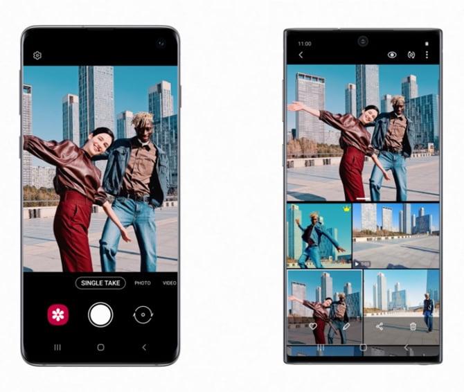 Recursos da câmera do Galaxy S20 chegam ao Galaxy S10 e Note10 com novo update