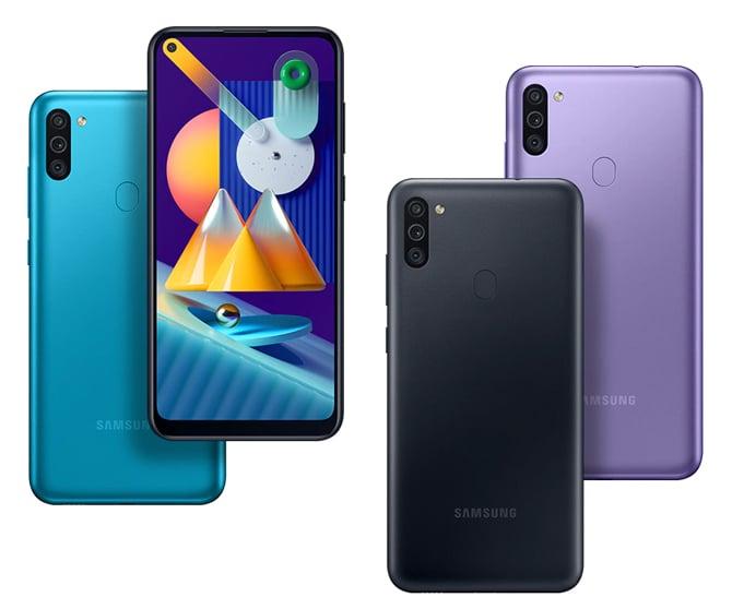 Samsung Galaxy M11 é anunciado com tela Infinity-O e três câmeras traseiras