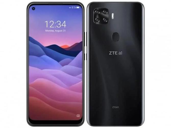 ZTE a1 ZTG01 é um concorrente do Xiaomi Mi 10 Lite 5G com nome mais confuso