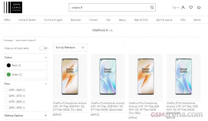 Preços do OnePlus 8 e OnePlus 8 Pro vazam horas antes do lançamento
