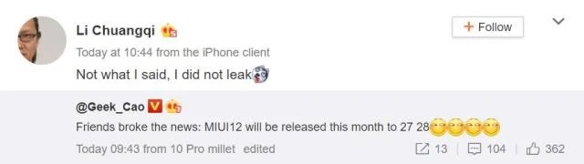 Interface MIUI 12 pode ser lançada no final de abril [Rumor]