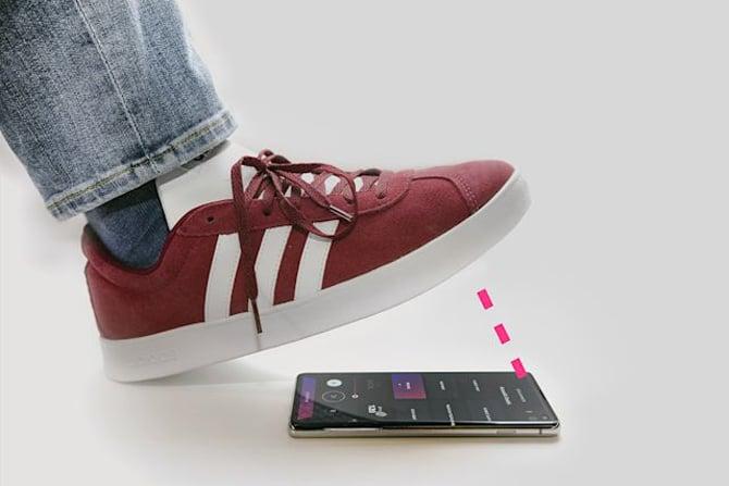 Aplicativo Beats and Loops da Kovaluu permite usar o celular como pedal de bateria