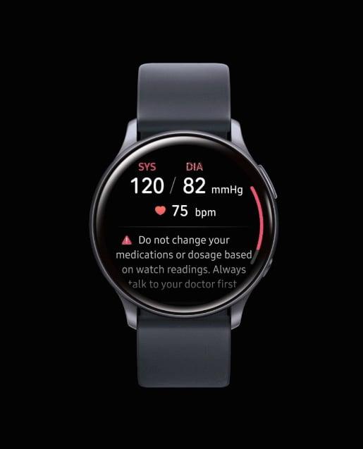 Samsung Galaxy Watch poderá medir a pressão sanguínea do usuário