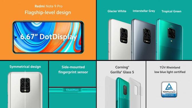 Xiaomi anuncia o Redmi Note 9 e a versão global do Redmi Note 9 Pro