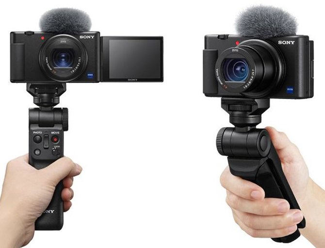 Primeiras imagens da câmera compacta Sony ZV-1 são divulgadas na Web