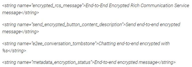 Google Mensagens pode receber suporte para criptografia de ponta a ponta