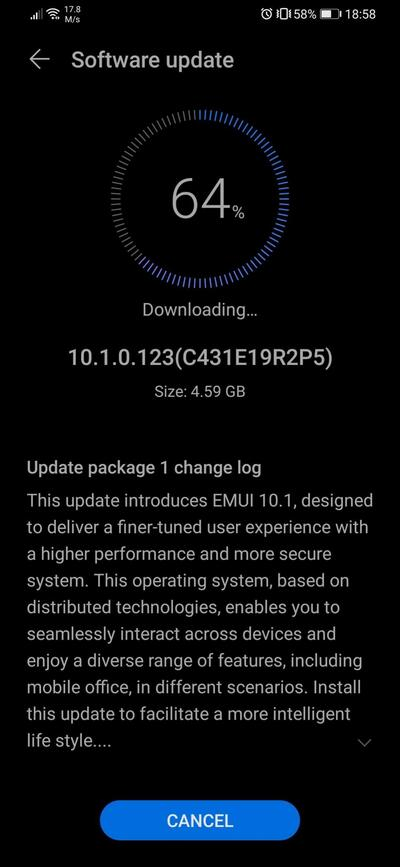 Huawei P30 e P30 Pro já estão recebendo a versão global estável da EMUI 10.1