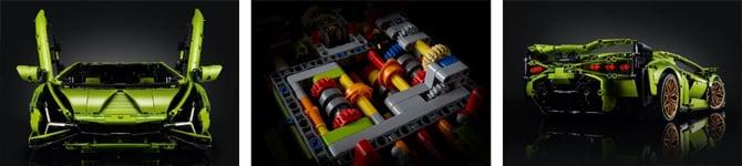 Lego Technic lança kit para montar um Lamborghini Sián FKP 37