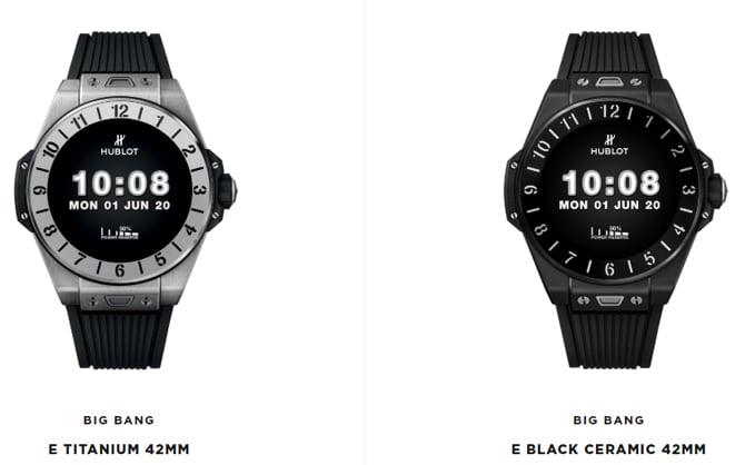 Novo smartwatch Hublot Big Bang e vem com Wear OS e custa até US$ 5.800