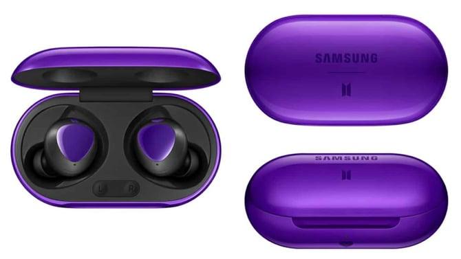 Samsung Galaxy Buds+ BTS Edition aparecem em novas imagens