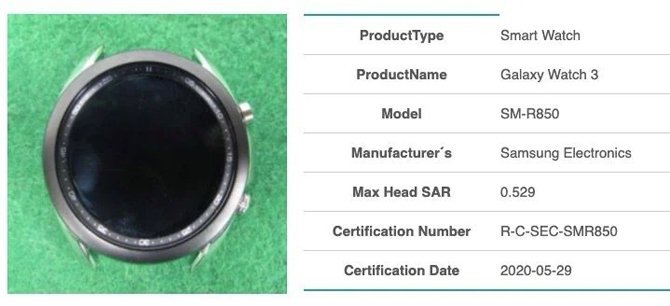 Samsung Galaxy Watch 3 appears in new leaked images