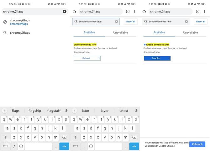 Google trabalha em agendador de downloads para o Google Chrome no Android