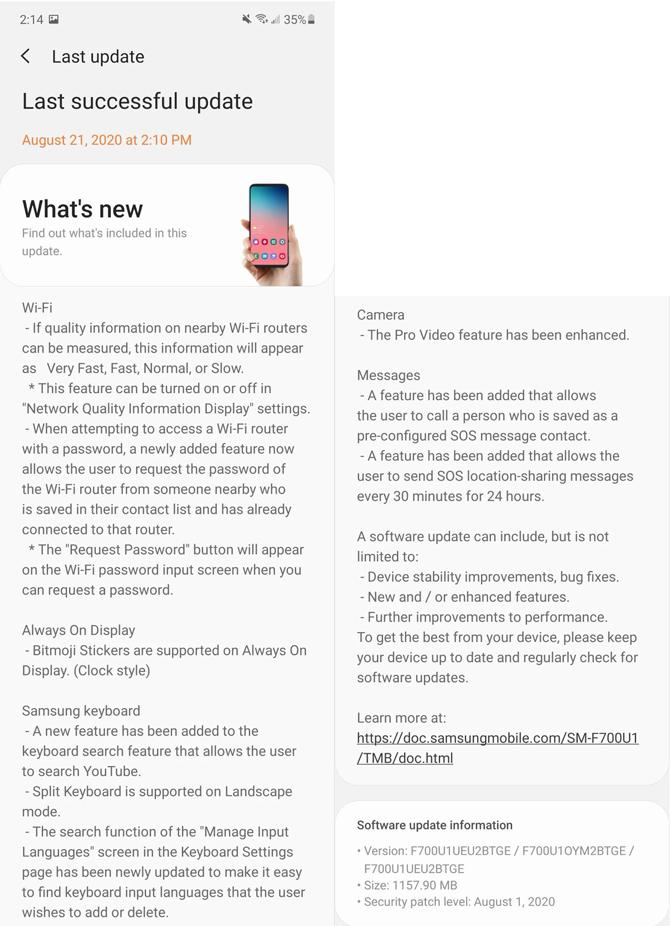 One UI 2.5 já está disponível para o Samsung Galaxy Z Flip