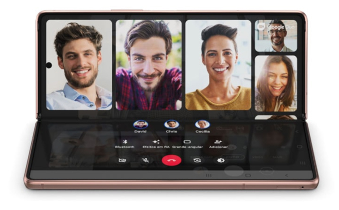 Samsung anuncia o Galaxy Z Fold2 5G no Brasil