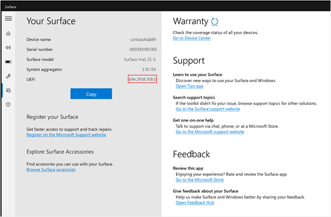 Microsoft Surface Hub 2S de 50 polegadas agora suporta Windows 10 Pro e Enterprise
