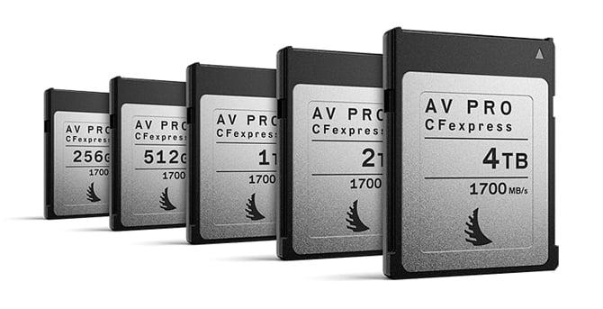 Angelbird anuncia cartões CFexpress 2.0 Type B com incríveis 1.700MB/s de velocidade