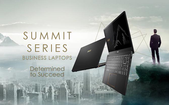 MSI lança novos laptops para uso corporativo equipados com chips Intel Core de 11ª geração