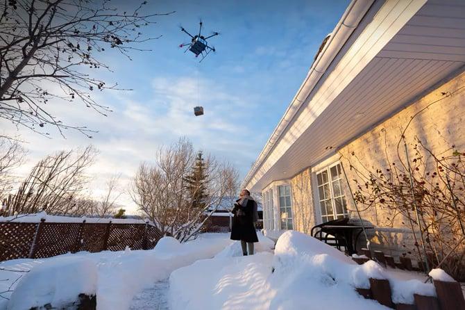 Walmart testa a entrega de produtos com drones nos Estados Unidos
