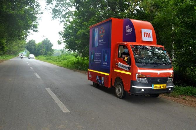 Xiaomi India anuncia a Mi Store on Wheels, sua nova loja móvel
