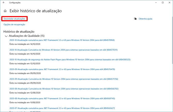 Atualizações do Windows 10 causam erros em alguns PCs