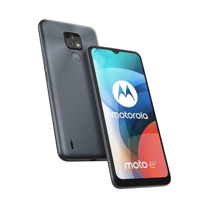 Smartphone Motorola Moto E7 traz câmera de 48MP e chip MediaTek Helio G25