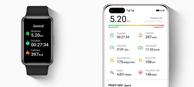 Huawei Watch Fit já está disponível no Brasil por R$ 899