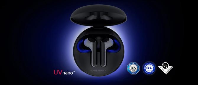 Fone de ouvido sem fio LG TONE Free FN6 tem tecnologia Meridian e sistema autolimpante