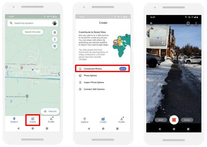 Google Maps agora permite que você crie fotos para o Street View com o smartphone