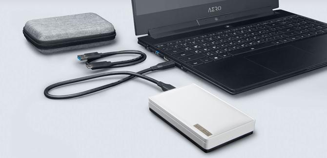 Gigabyte lança SSD externo VISION DRIVE com interface USB 3.2 e velocidade de 2000MB/s