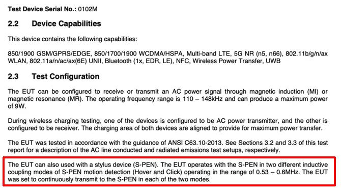 Samsung Galaxy S21 Ultra tem o suporte para a S Pen confirmado pela FCC