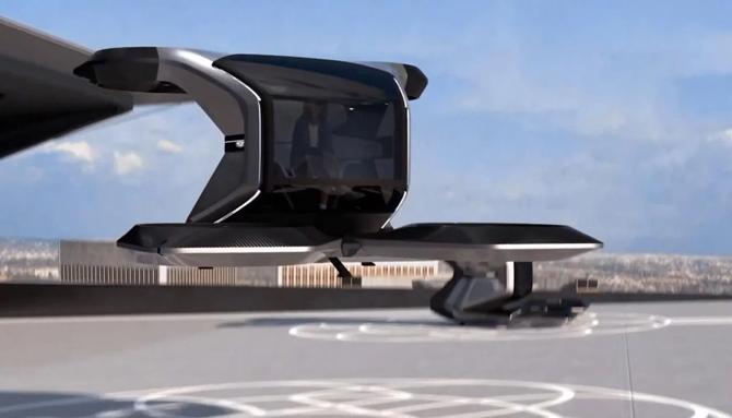 General Motors revela Cadillac voador autônomo com design futurista