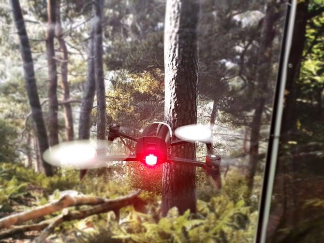 Drone imita movimentos de insetos voadores para passar por ambientes complexos