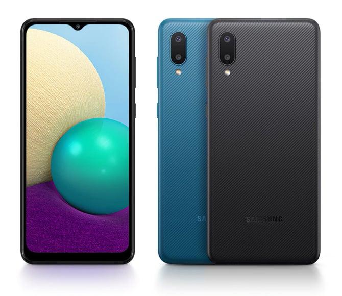 Samsung Galaxy A02 chega com bateria de 5.000mAh e preço baixo