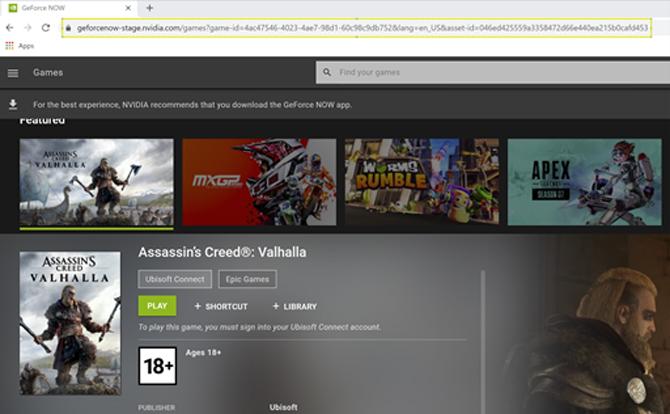 GeForce NOW 2.0.27 adiciona suporte para o Google Chrome e para dispositivos com Apple M1