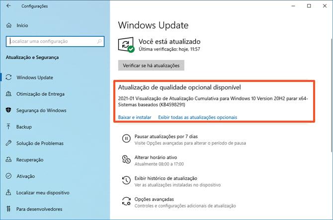 Atualização do Windows 10 corrige diversos bugs, incluindo um que pode travar o PC