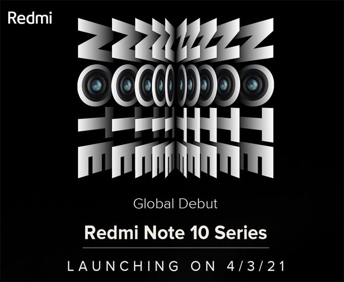 Xiaomi confirma anúncio do Redmi Note 10 para o dia 4 de março