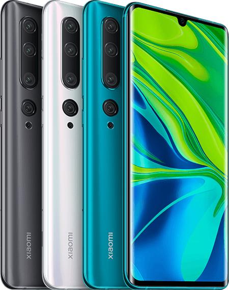 Xiaomi Mi Note 10 e Note 10 Pro começam a receber o Android 11