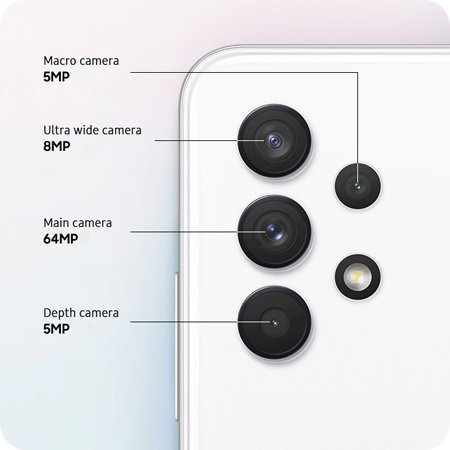 Galaxy A32 é o modelo mais barato da Samsung com tela AMOLED de 90Hz
