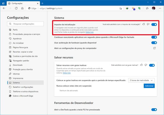 Microsoft Edge 89 traz suporte para guias verticais e inicialização mais rápida