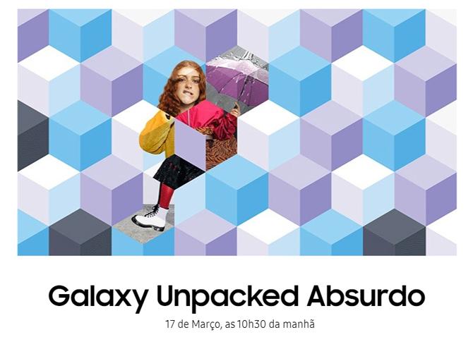 Samsung anuncia novo evento Galaxy Unpacked para o dia 17 de março