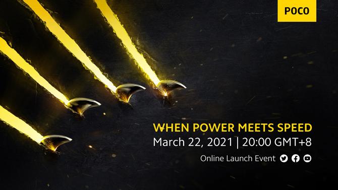 OFICIAL: POCO marca evento com lançamento de novos celulares para 22 de março