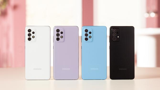 Samsung anuncia os smartphones Galaxy A52, Galaxy A52 5G e Galaxy A72