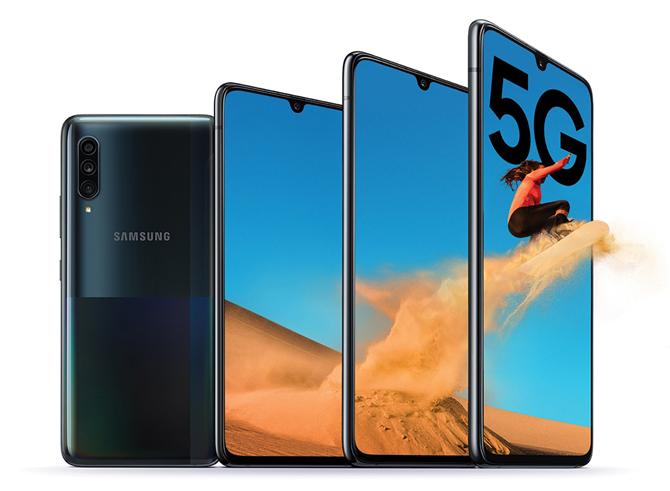 Samsung Galaxy A70s e Galaxy A90 5G recebem a One UI 3.1 com Android 11