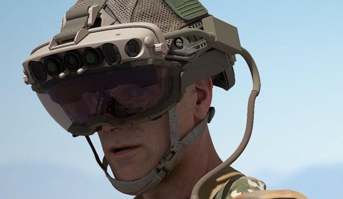 Microsoft fornecerá headsets de realidade aumentada para o Exército dos EUA