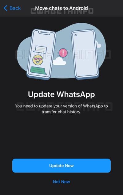WhatsApp permitirá transferir mensagens entre iPhone e Android