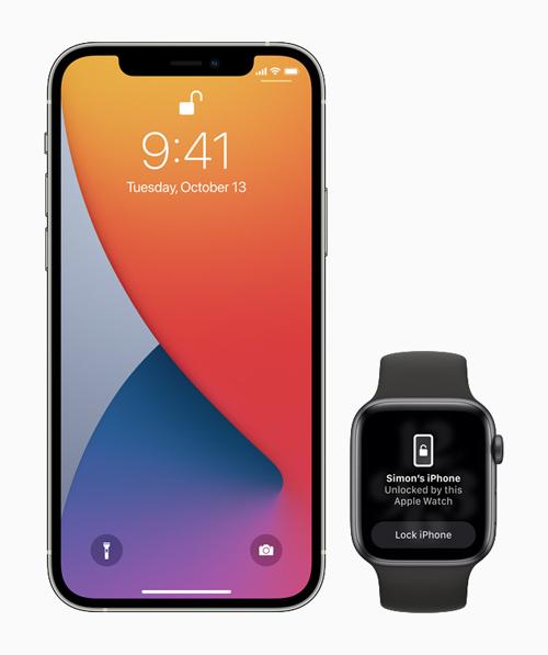 iOS 14.5 chega com suporte para desbloqueio do iPhone com o Apple Watch