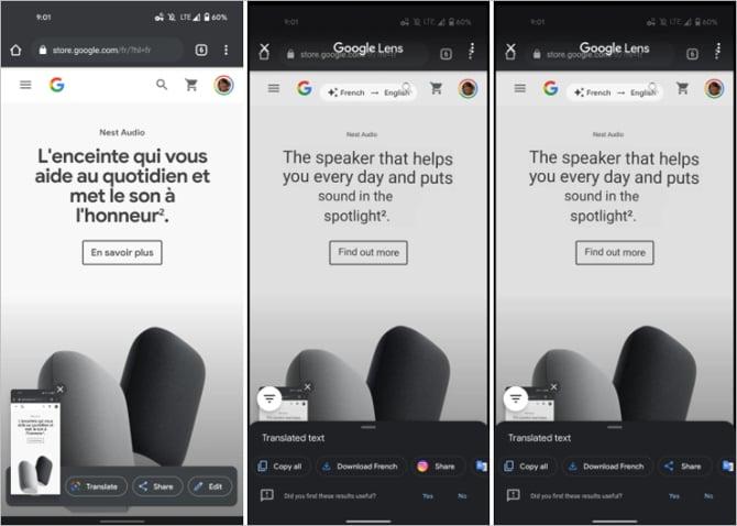 Google Lens agora pode traduzir automaticamente textos em imagens